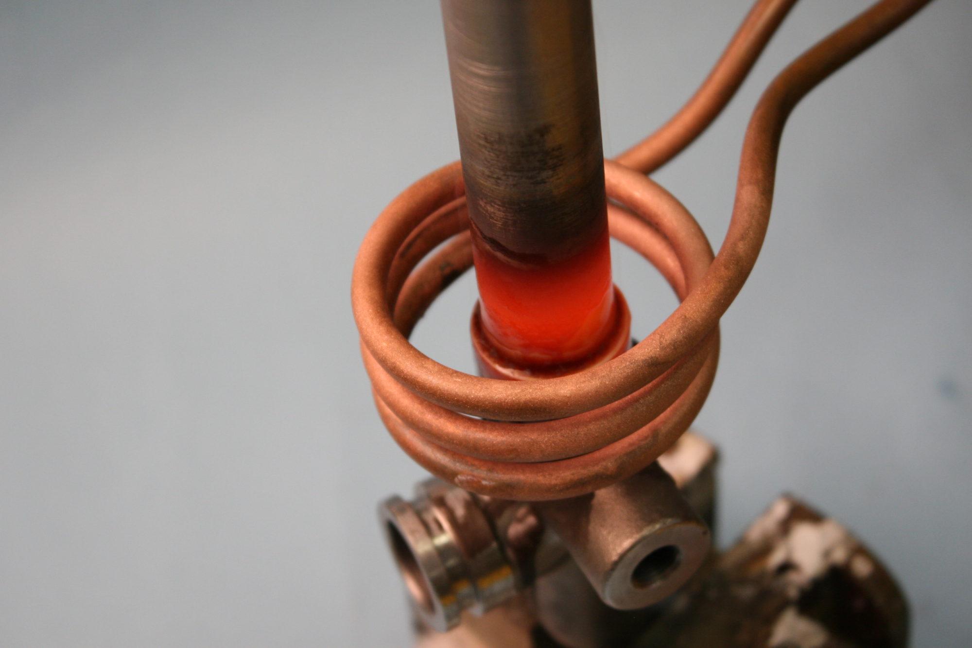 Snel, efficient en contactloos verwarmen door middel van inductie