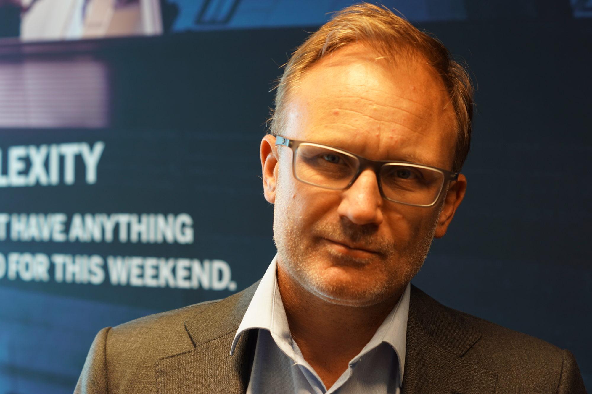 Het pad van directeur Blokland van ERP specialist Planlogic